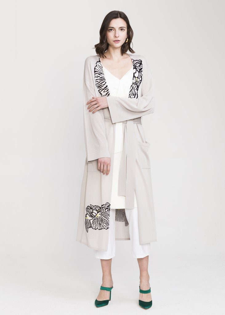 JIA VISCOSE LONG CARDIGAN