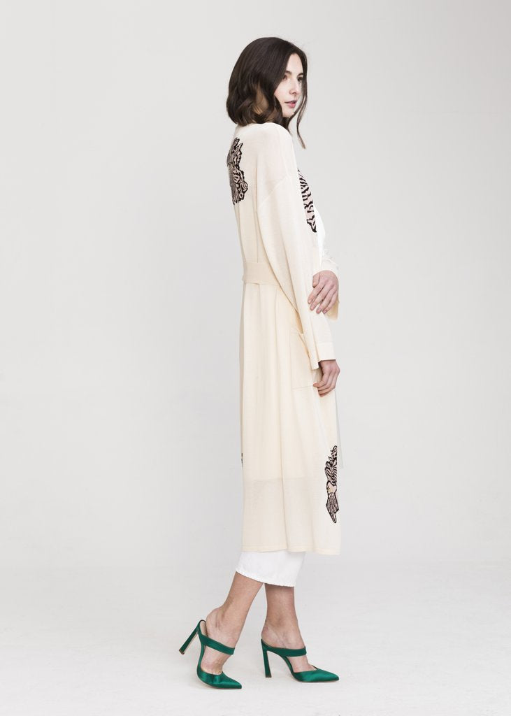 JIA VISCOSE LONG CARDIGAN - EVERY*