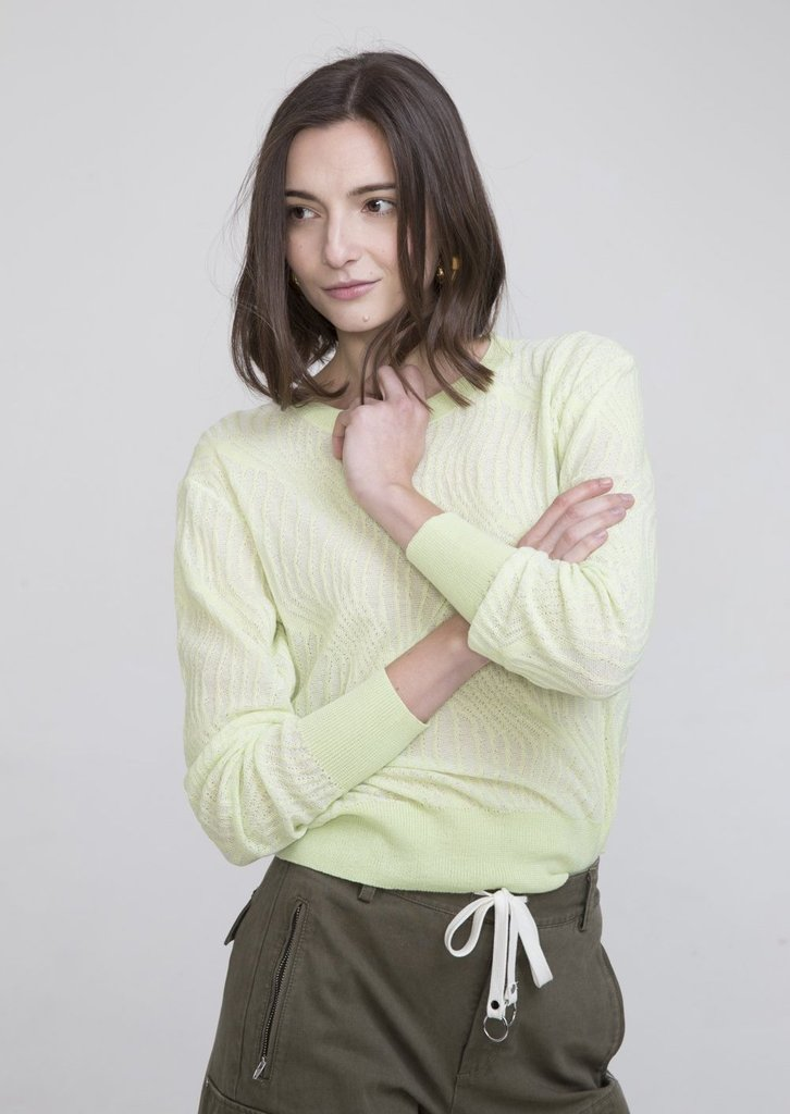 INEXCLSV MARINA POLO COLLAR SWEATER
