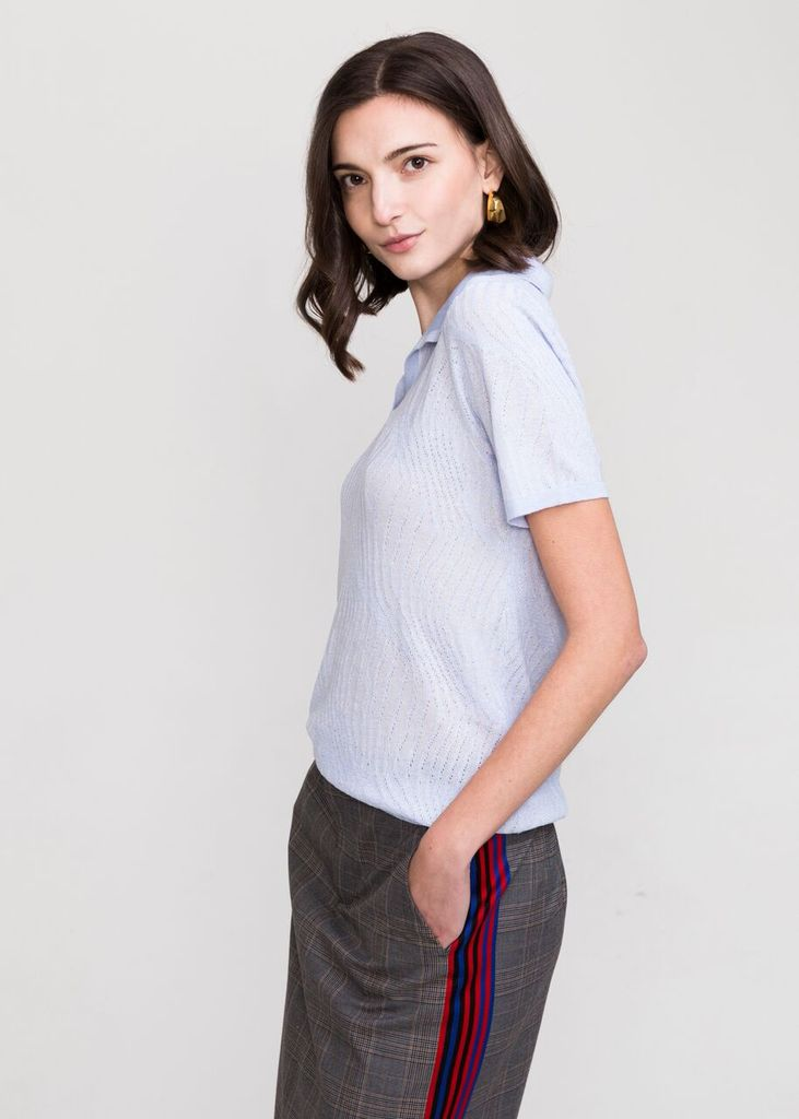 MARINA POLO COLLAR SWEATER - EVERY*