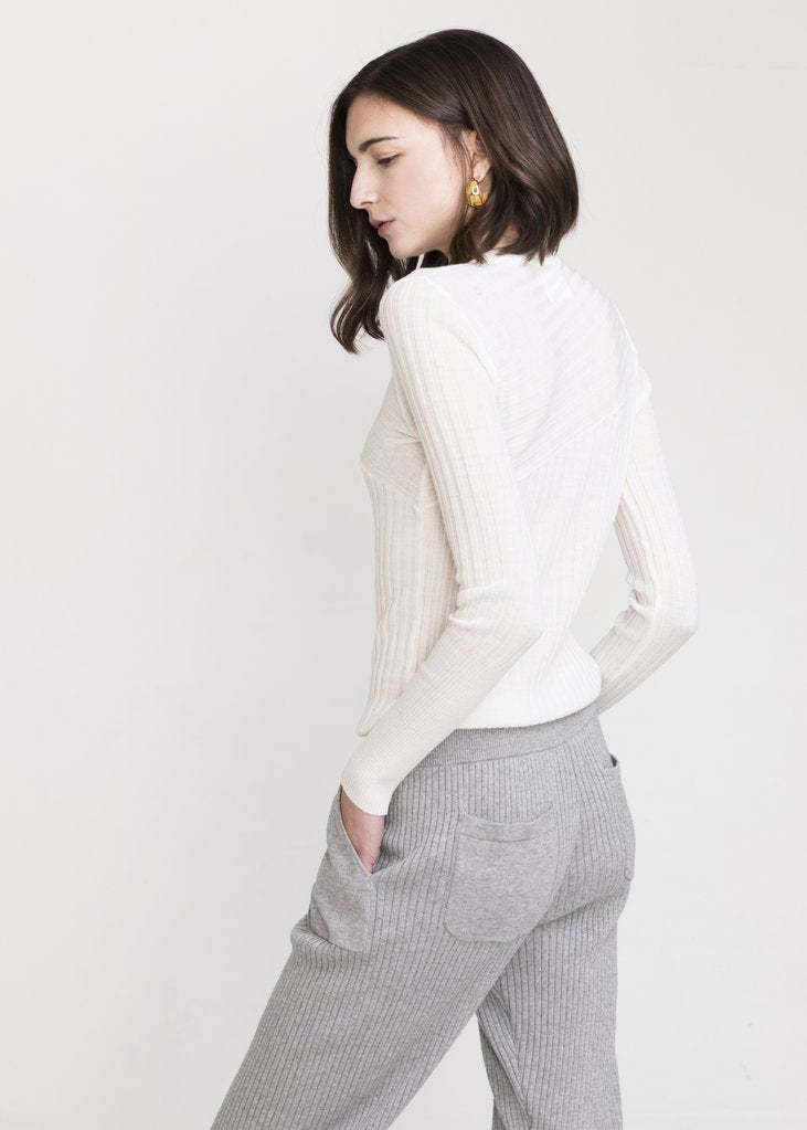 SHISHI COTTON CASHMERE KNITTED PANTS - EVERY*
