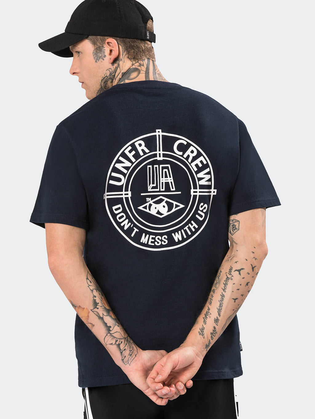 DMWU BP T-SHIRT NAVY - EVERY*
