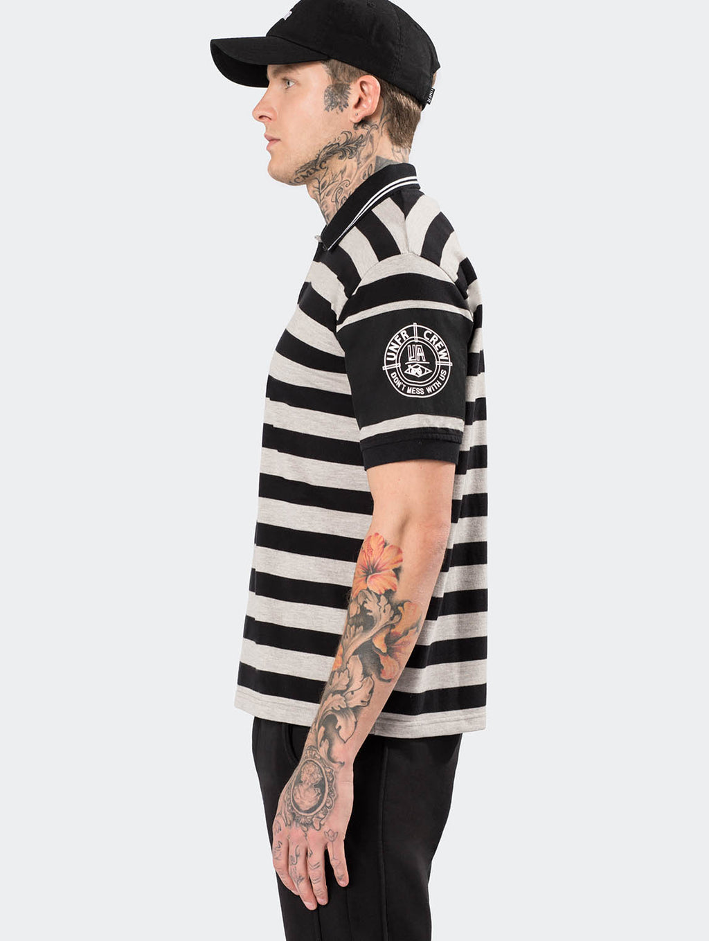 YARN DYE STRIPED POLOSHIRT - EVERY*