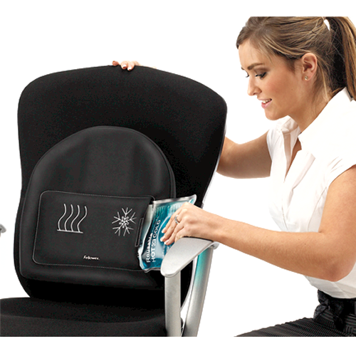 Heat Soothe Back Support With Temperature Control, Comfortable, Adjustable Strap