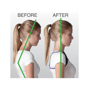 Back and core muscles braces - posture reminding resistance band