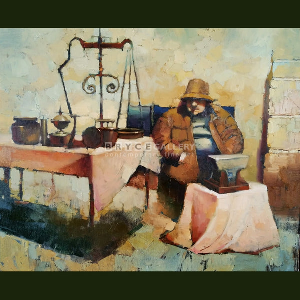 Antique Merchant Paintings