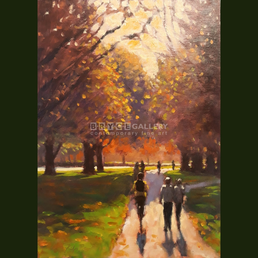 Autumn Commute Hagley Park Paintings