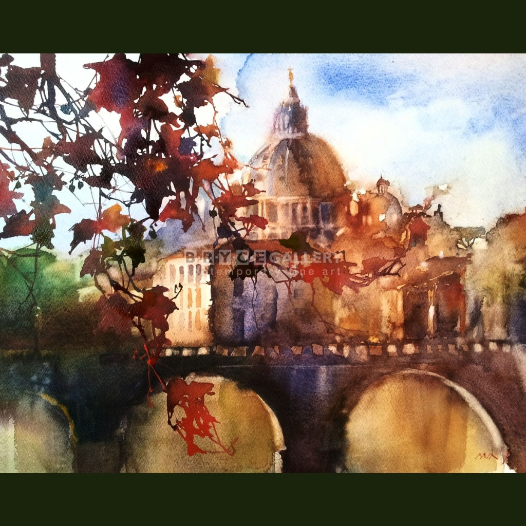 Autumn Sonata Rome Paintings