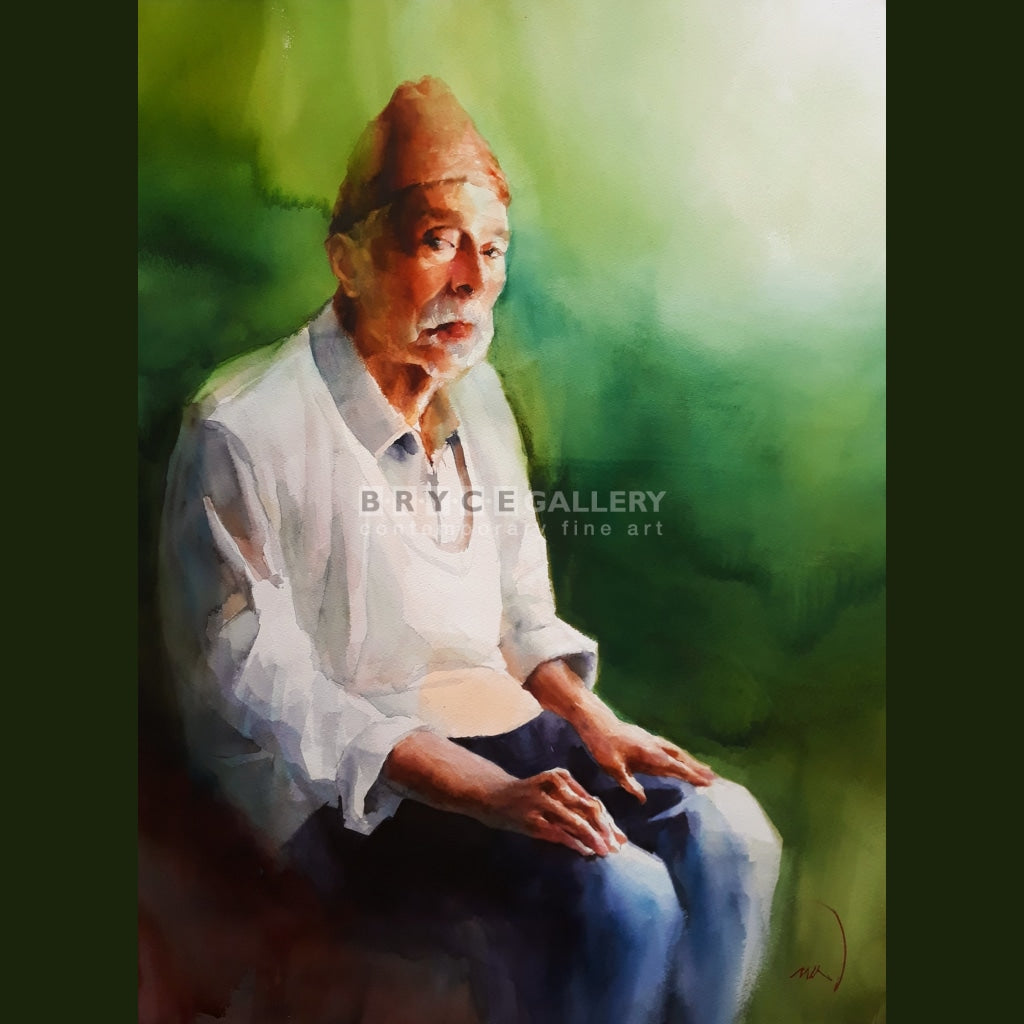 Barber Morocco Painting