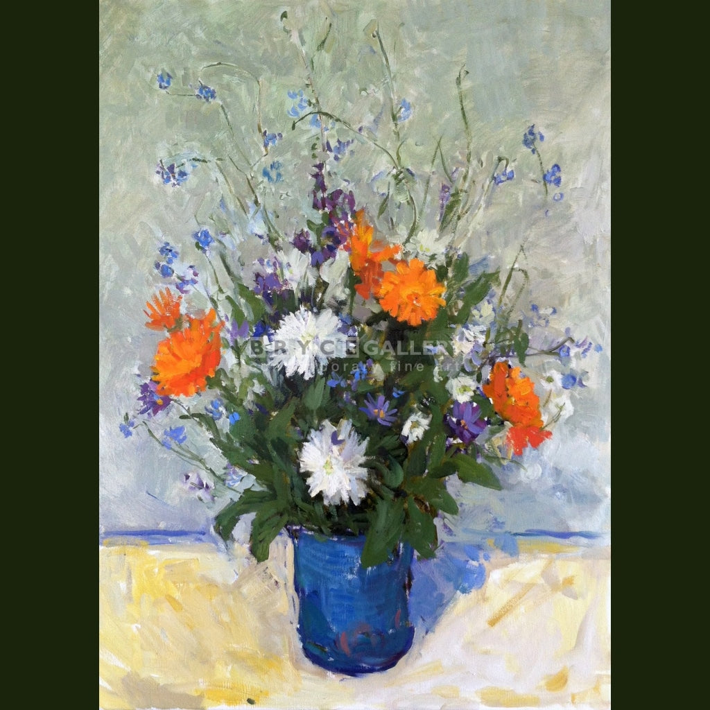 Blue Vase Paintings