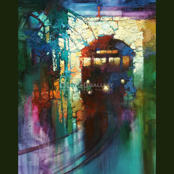 Christchurch Tram Paintings