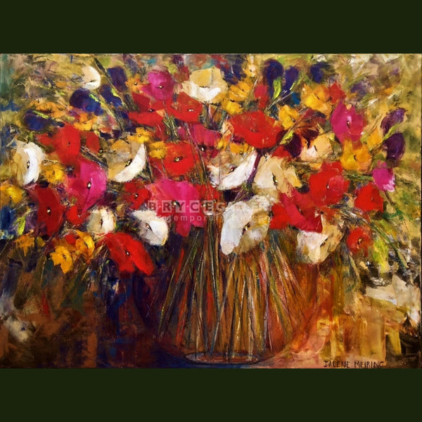 Colourful Bouquet Paintings