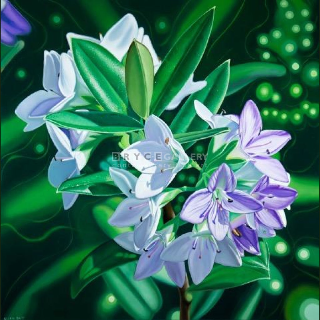 Costal Flora Hebe Paintings