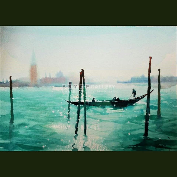 Dreamy Day In Venice Paintings