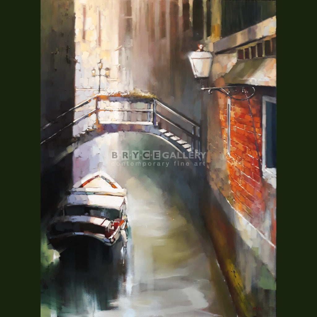 Early Morning In Venice Paintings