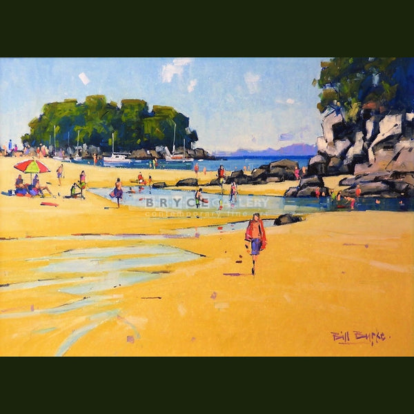 End Of Beach Little Kaiteriteri Paintings