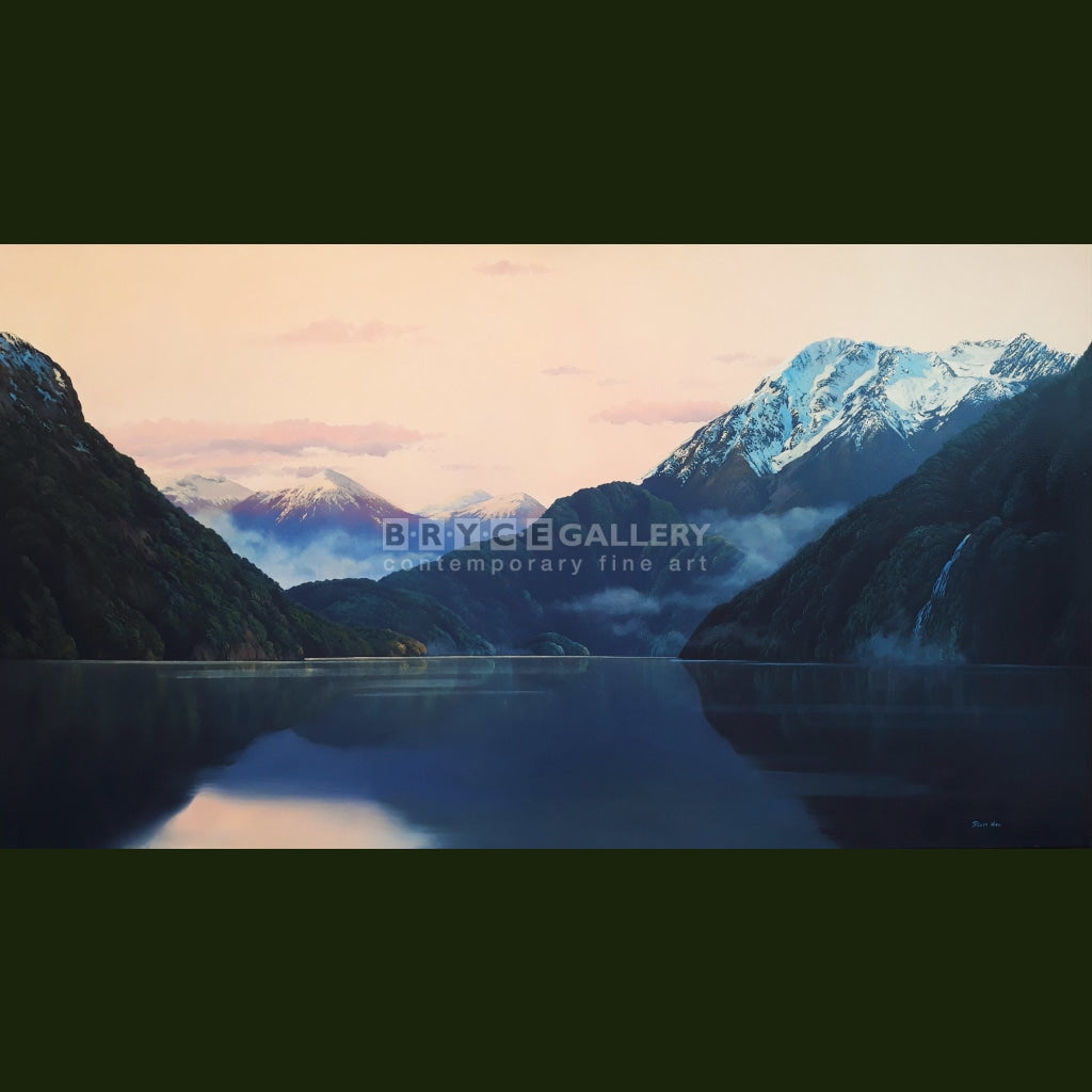 Fiordland Evening Light Paintings
