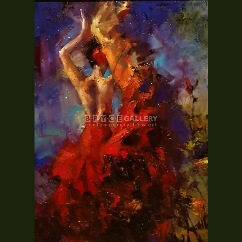 Flamenco Dancer Paintings