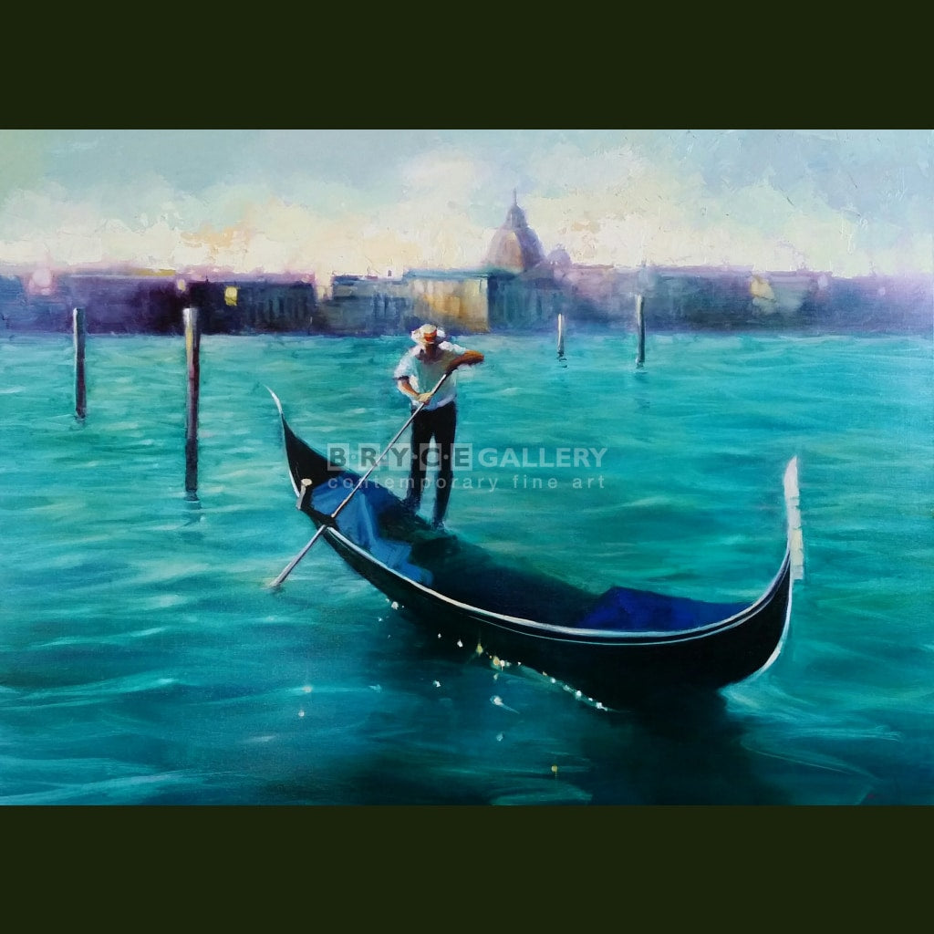 Gondolier Venice Paintings
