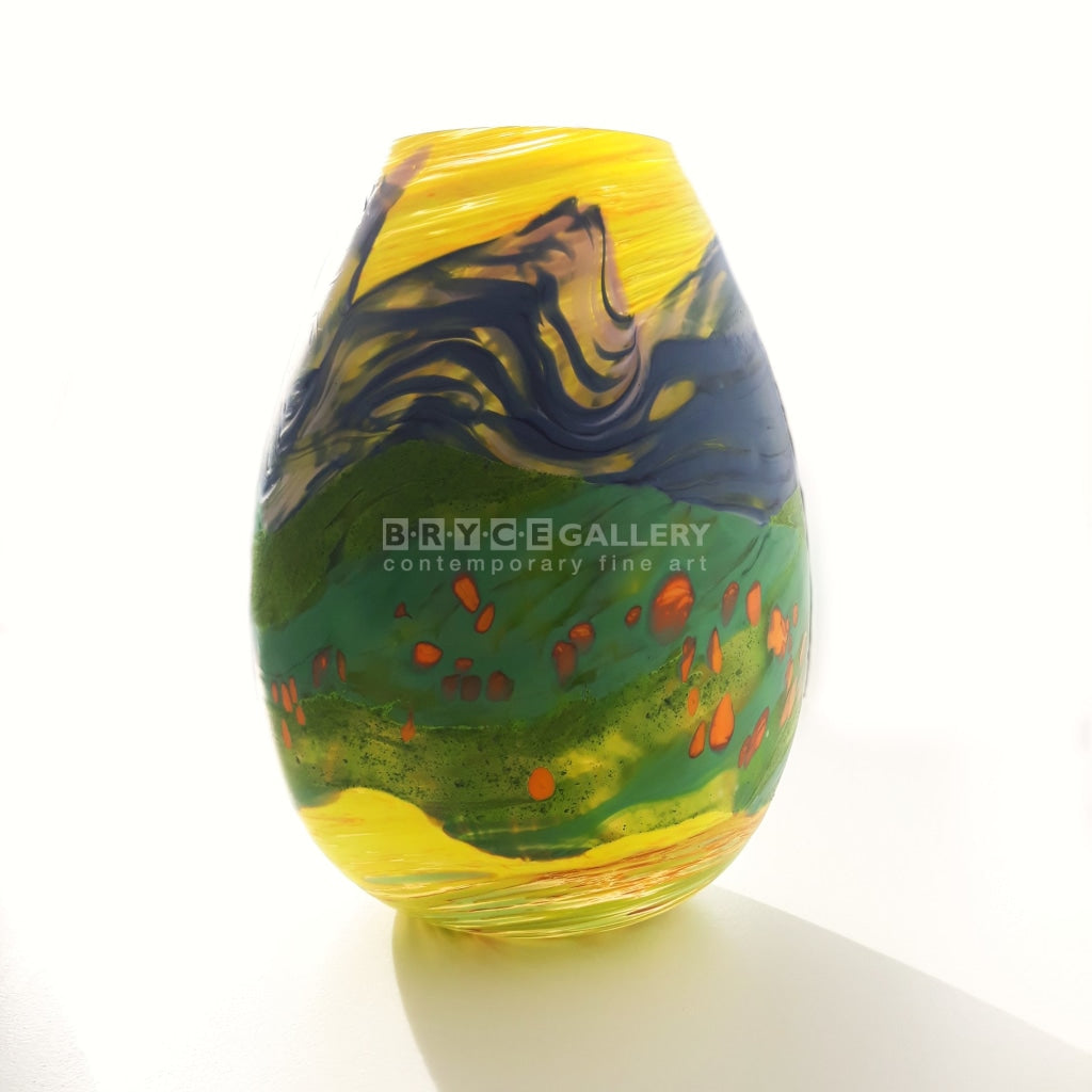 Happy Days Small Vase Glass Art