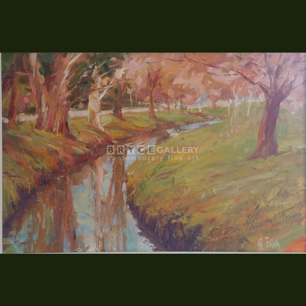 Heathcote River Cashmere Painting