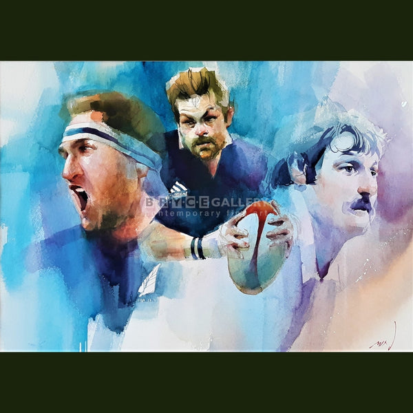 Heroes Of Nz Rugby Paintings