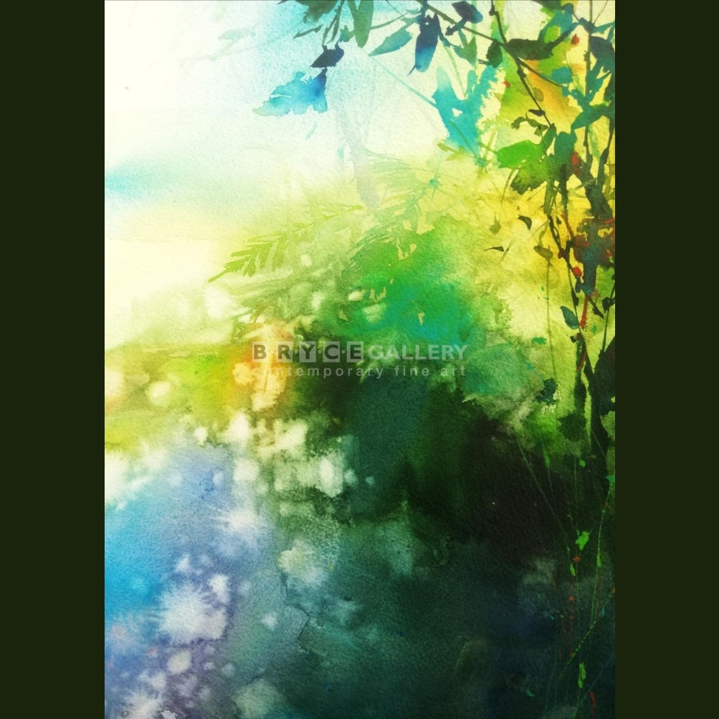 Humming Of A Morning Forest Painting