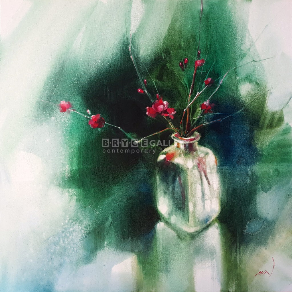 Japanese Ikebana Paintings