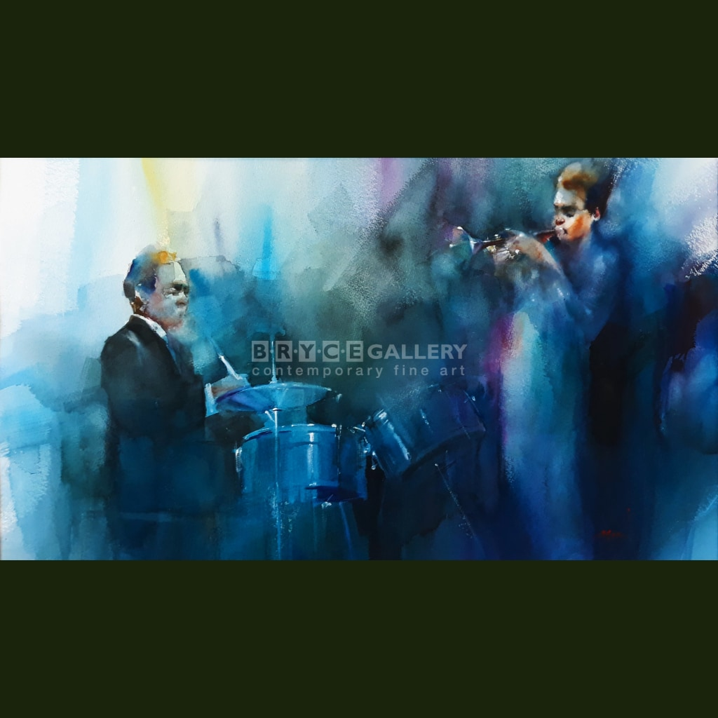 Jazz Duet Paintings