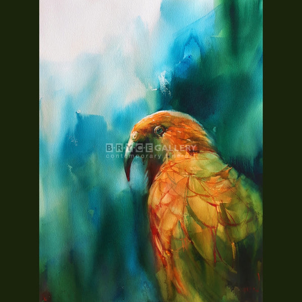 Kea In Mountain Air Painting