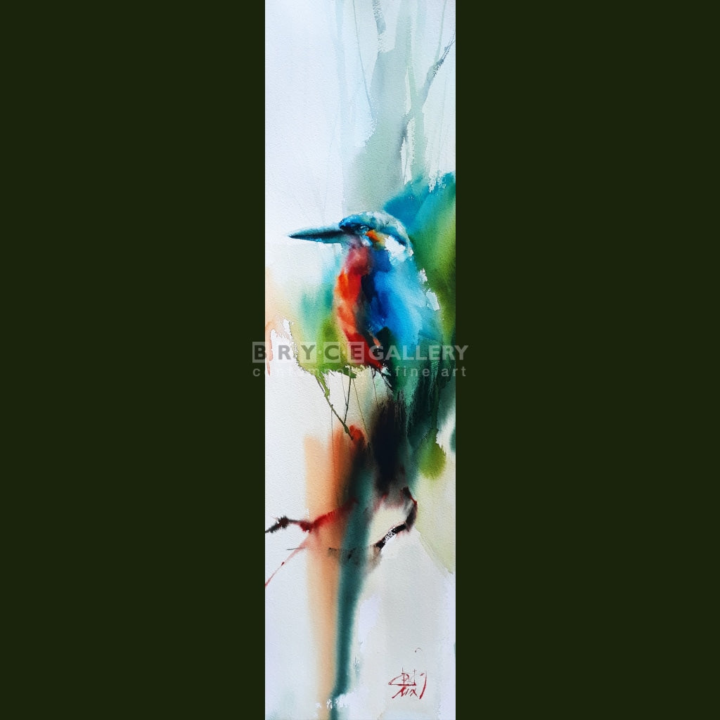 Kingfisher After Rain Paintings