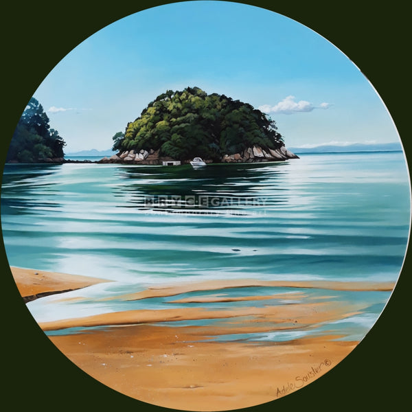 Lazy Days - Kaiteriteri Paintings