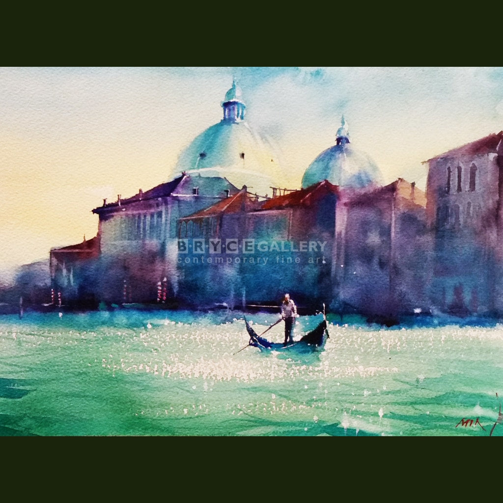 Morning Of Venice Paintings