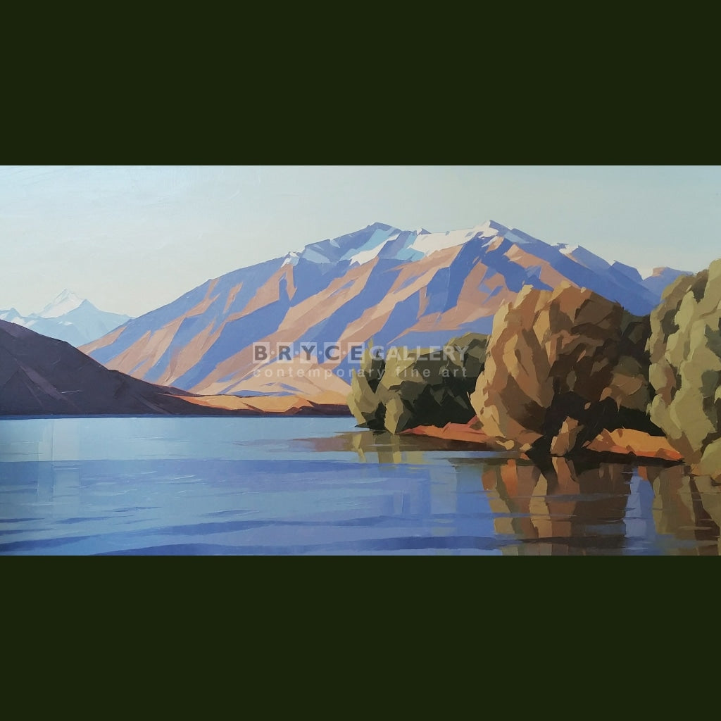 Mt Aspiring & Buchanan Ranges Lake Wanaka Paintings