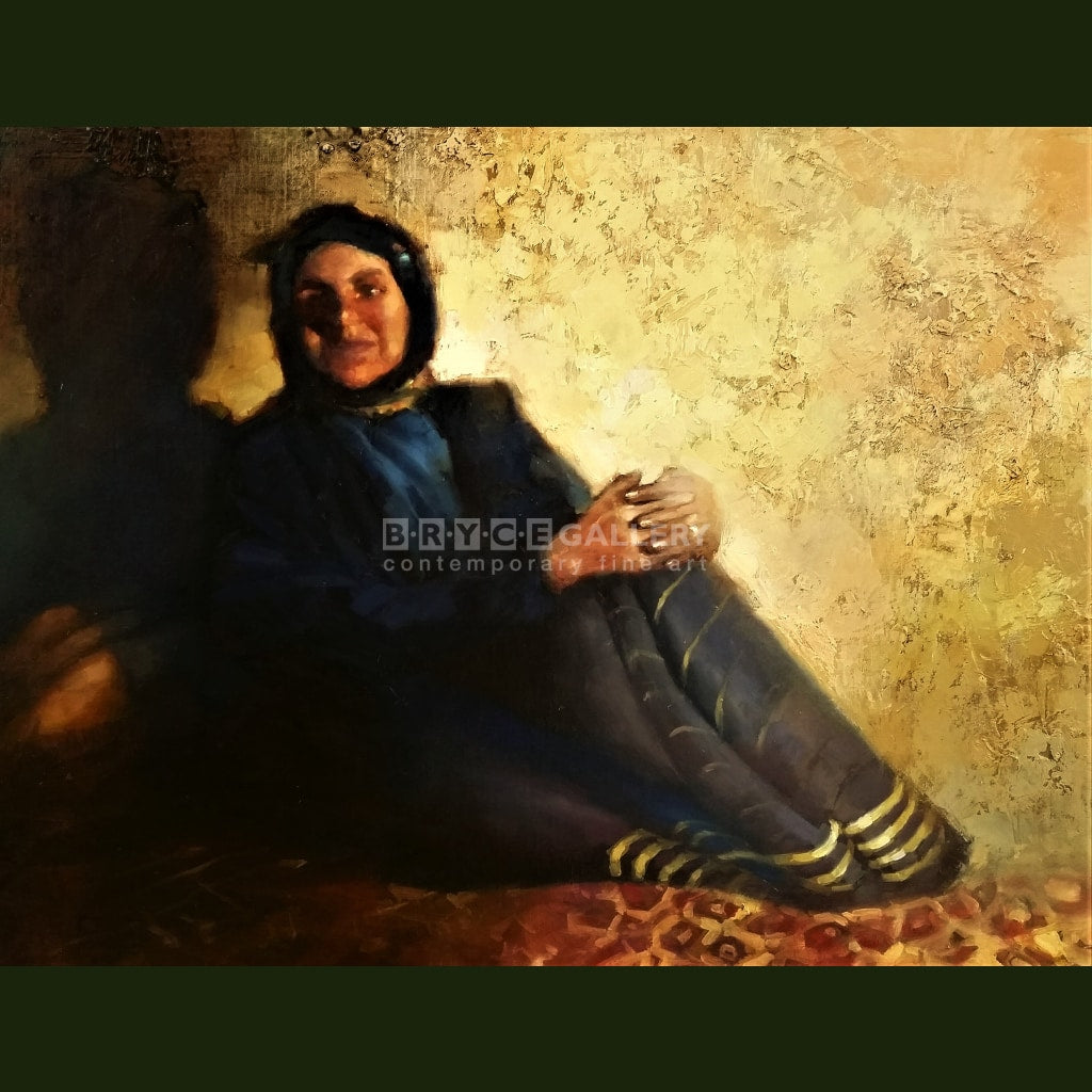 Nomad Woman (Iran) Paintings