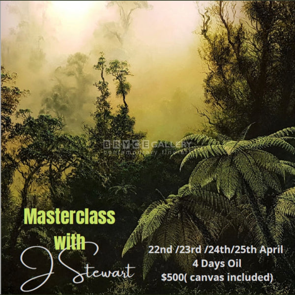 Oil Masterclass On 22Nd - 25Th April Workshops