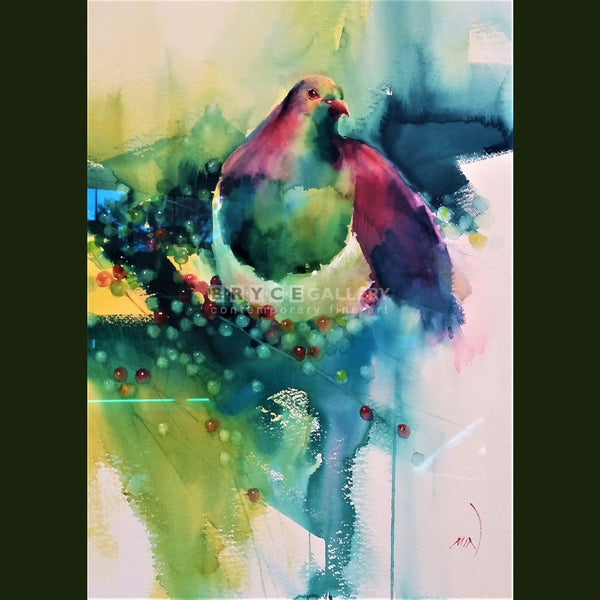 Pigeon Paintings