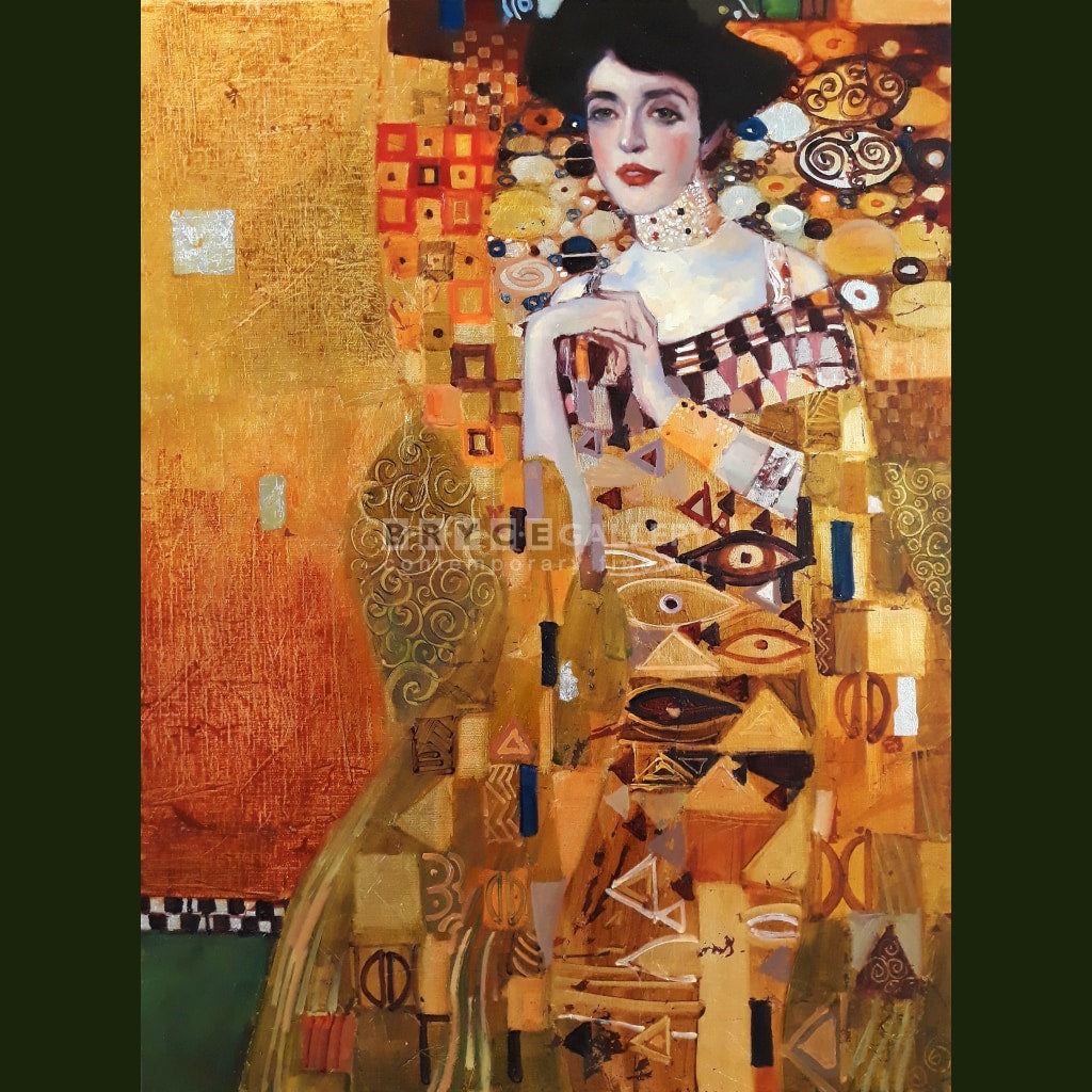 Portrait Of Adele Bloch-Bauer I For Gustav Klimt Paintings