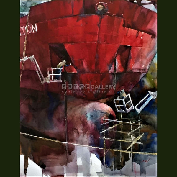 Red Ship Paintings