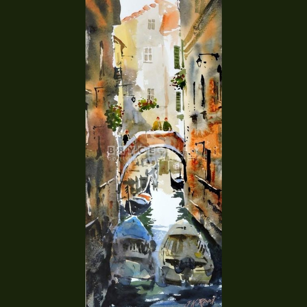 Reflecting In Venice Paintings