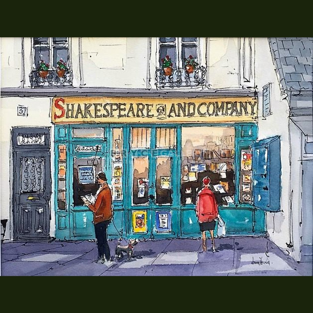 Shakespeare & Company Paintings