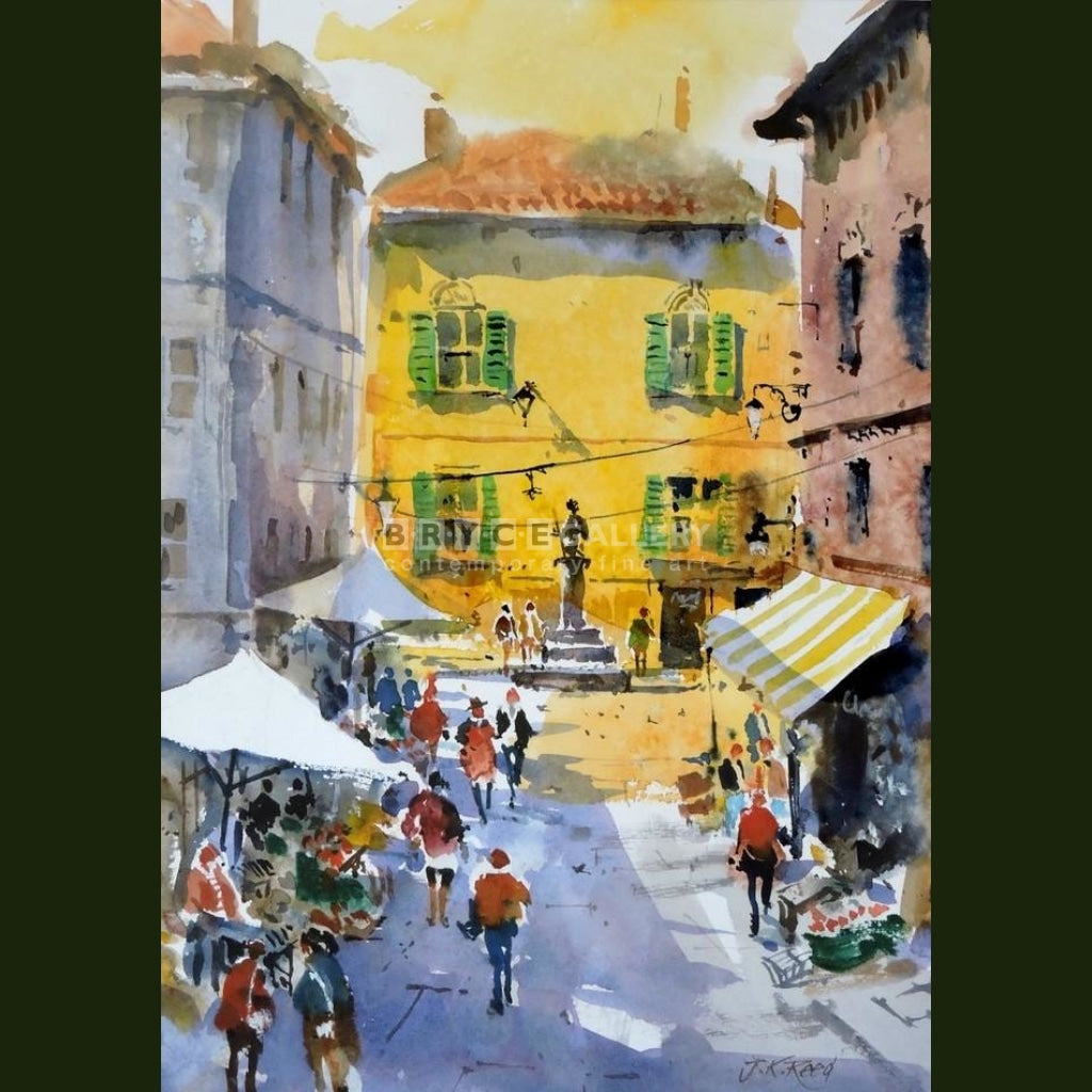 Sorrento Market Stalls Italy Paintings
