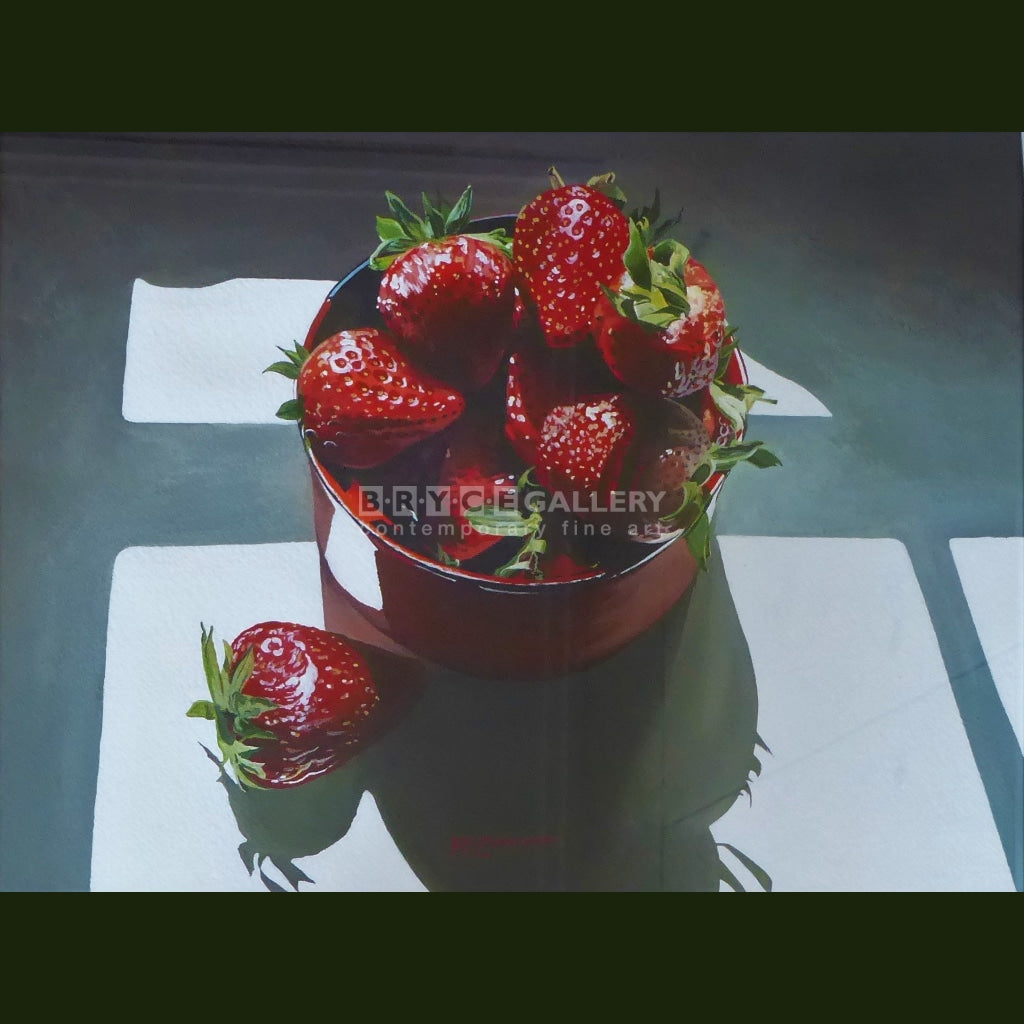 Strawberry Fare Painting