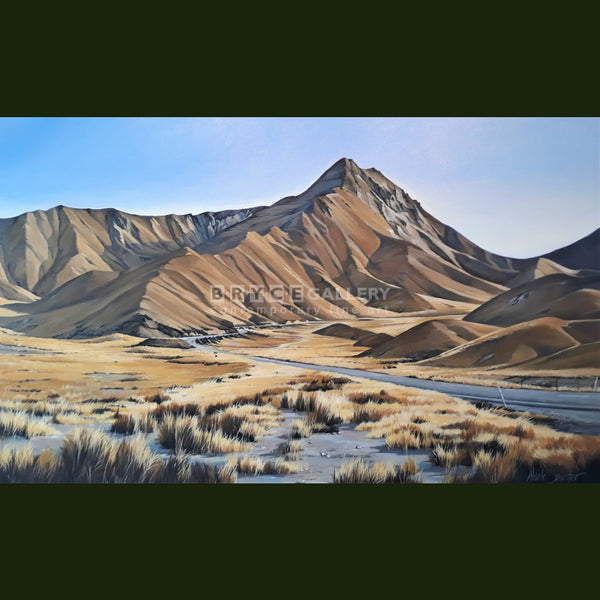 Summer Heat - Lindis Pass Paintings