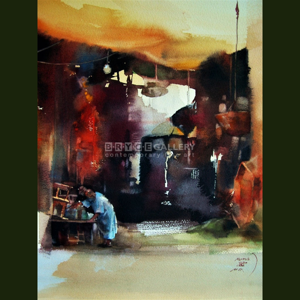 The Marrakech Market Paintings