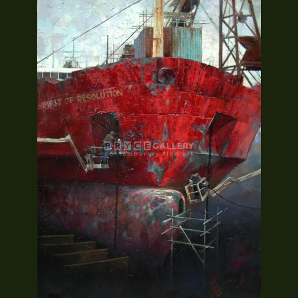 The Red Ship Paintings