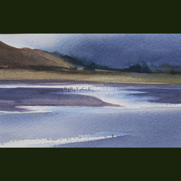 Top Of Lake Ohau Paintings