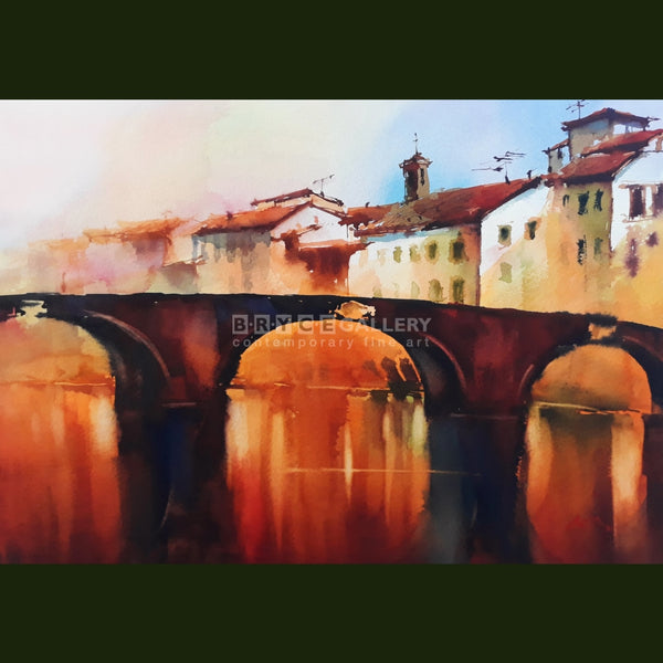Trinita Bridge Florence Paintings