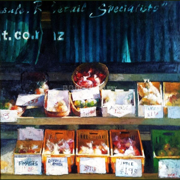 Visual Taste Covent Fruit Shop Paintings