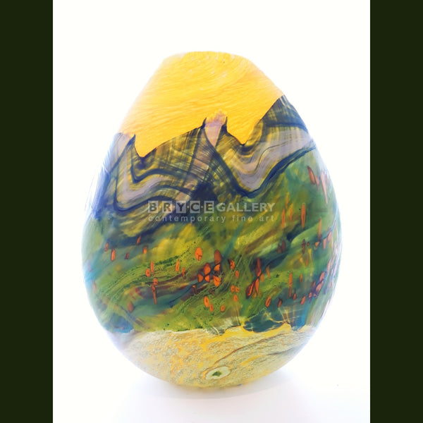 Volcanic Series - Happy Days (Large) Glass Art